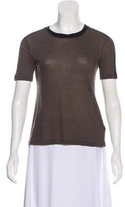 A.L.C. Short Sleeve Crew Neck T-Shirt