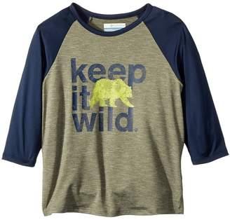 Columbia Kids Outdoor Elements 3/4 Sleeve Shirt Boy's T Shirt