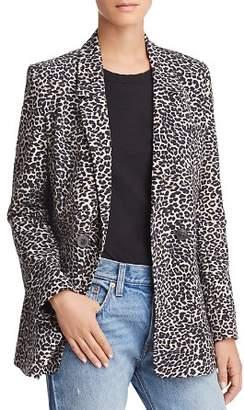 Anine Bing Madeleine Leopard Blazer