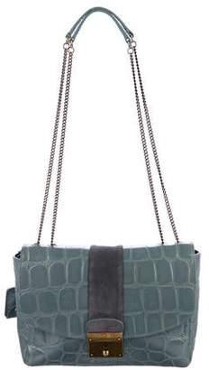 Marc Jacobs Embossed Mini Polly Shoulder Bag