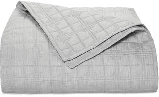 Hotel Collection Modern Plaid King Coverlet