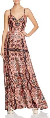 Alice + Olivia Alves Cross-Back Maxi Dress $395 thestylecure.com