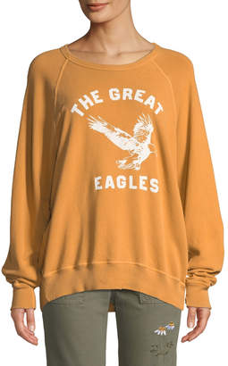 The Great The College Sweatshirt w/ Eagles Varsity Graphic