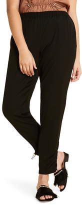 Marina Rinaldi Ruched Ankle Detail Pants
