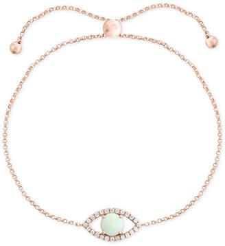 Effy Opal (1/2 ct. t.w.) & Diamond (1/6 ct. t.w.) Bracelet Set in 14k Rose Gold