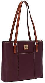 As Is Dooney & Bourke Pebble Leather Small Lexington Shopper $131 thestylecure.com