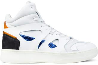 Puma White MCQ X Move Mid Sneaker