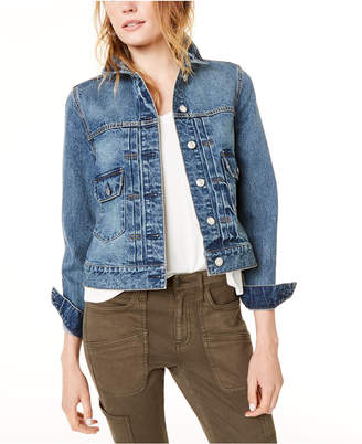 Oat Cotton Denim Jacket