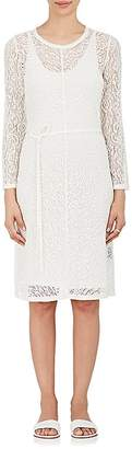 Raquel Allegra WOMEN'S CHIFFON-TRIMMED LACE DRESS