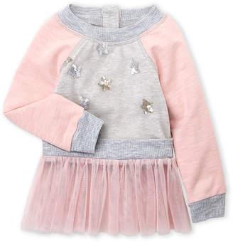 Baby Sara Infant Girls) Tutu Trim Sweatshirt