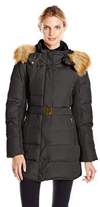 Jones New York Women's Belted Down Coat $33.80 thestylecure.com
