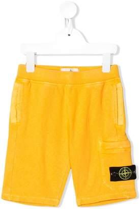 Stone Island Junior cotton shorts
