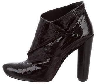 Louis Vuitton Patent Ankle Boots