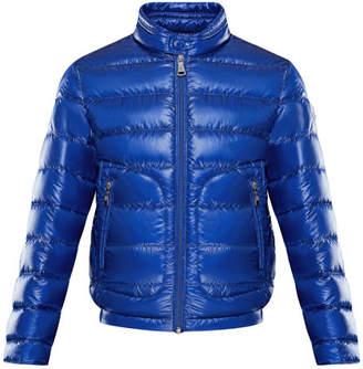 Moncler Acorus Lightweight Down Jacket, Size 4-6