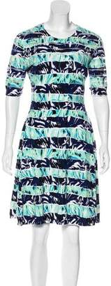 Kenzo Printed Knee-Length Dress