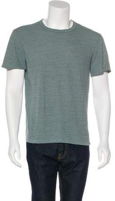 Simon Miller Silk-Blend Short Sleeve T-Shirt