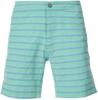 Onia Calder 7.5 striped swim trunks