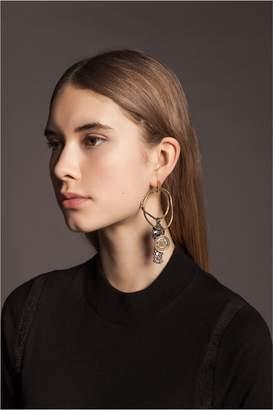 Sonia Rykiel Gri Gri Ring Earrings