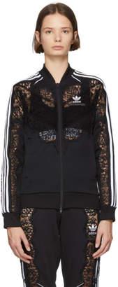 Stella McCartney Black adidas Edition Lace Bomber Jacket