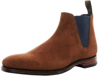 Loake 1880 Men's Suede Caine Low Chelsea Boots