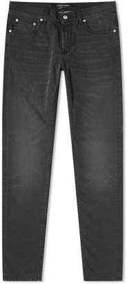 Alexander McQueen Slim Embroidered Pocket Jean