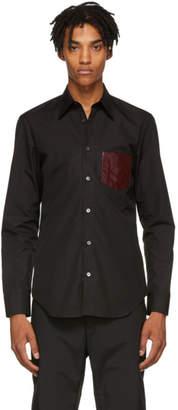 Maison Margiela Black Poplin PVC Shirt