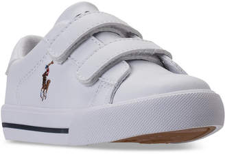 Polo Ralph Lauren (ポロ ラルフ ローレン) - Polo Ralph Lauren Toddler Boys' Easten Ii Ez Casual Sneakers from Finish Line