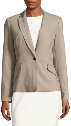 Calvin Klein Collection Notch Lapel Jacket