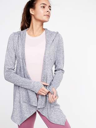 Old Navy Open-Front Jersey Hoodie for Women