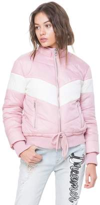 Juicy Couture Colorblock Puffer Jacket