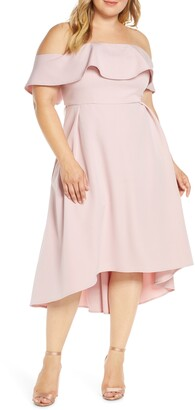 Chi Chi London Curve Wanda Off the Shoulder Party Dress