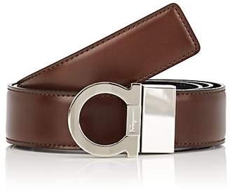 Salvatore Ferragamo Men's Gancini-Buckle Reversible Leather Belt