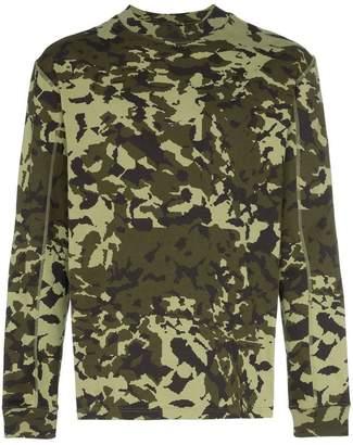 Nike X Alyx MMW camouflage T-shirt
