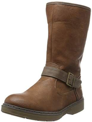 Mustang Women's 1235-603 Warm Lined Classic Boots Half Length Brown Size: 5.5-6