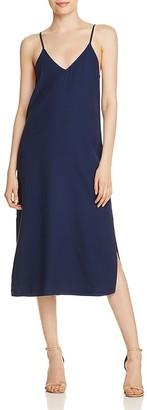 Splendid Crosshatch Slip Dress $98 thestylecure.com
