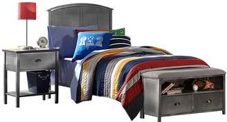Hillsdale Furniture Urban Quarters Twin Bed & Storage Bench 2-piece Set