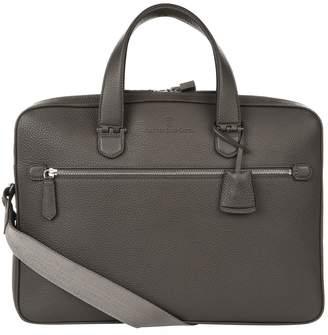 Faber-Castell Graf Von Leather Double Compartment Briefcase
