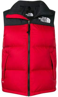 The North Face padded high neck gilet