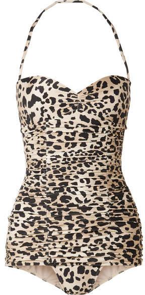 Adriana Degreas - + Leopard-print Swimsuit - Leopard print