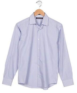 Michael Kors Boys' Striped Button-Up Shirt