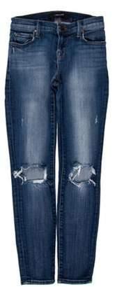 J Brand Misfit Capri Low-Rise Jeans blue Misfit Capri Low-Rise Jeans
