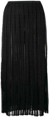 Salvatore Ferragamo pleated mid-length skirt