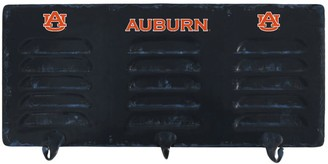 Auburn Tigers 3-Hook Metal Coat Rack