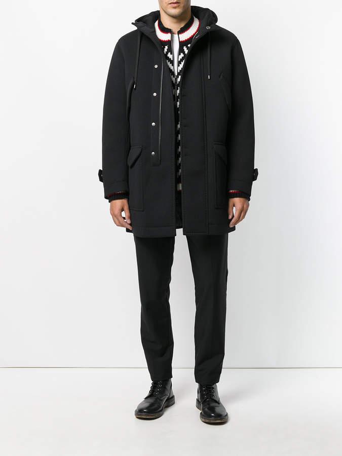 Ermanno Scervino hooded coat