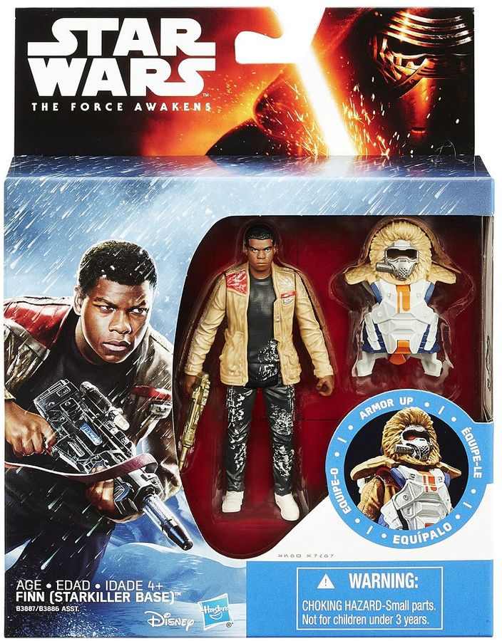 Hasbro Star Wars: Episode VII The Force Awakens 3.75-in. Snow Mission Armor Finn (Starkiller Base) Figure by Hasbro