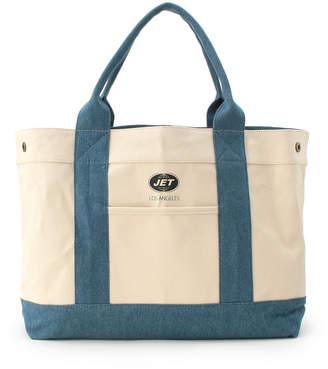 JET (ジェット) - JET (C80) ◆リバーシブルビッグトートバッグ (ブルー)