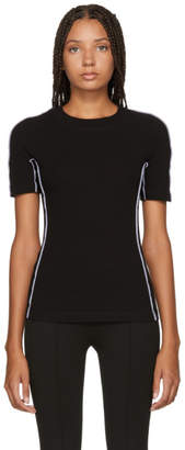 Rosetta Getty Black Jersey Reversed T-Shirt