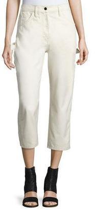 Maison Margiela Cotton Painter Pants, White $465 thestylecure.com