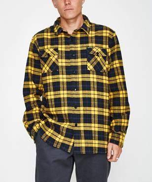 Santa Cruz El Granada Long Sleeve Shirt Custard