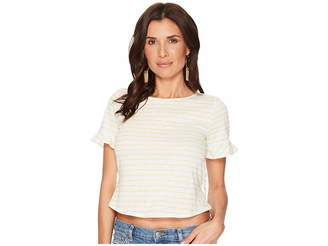 Lucky Brand Stripe Tee Women's T Shirt